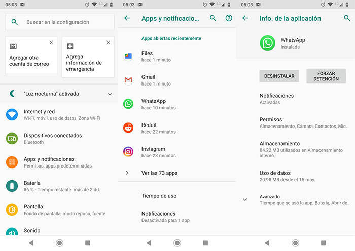 Desconectar WhatsApp segundo metodo