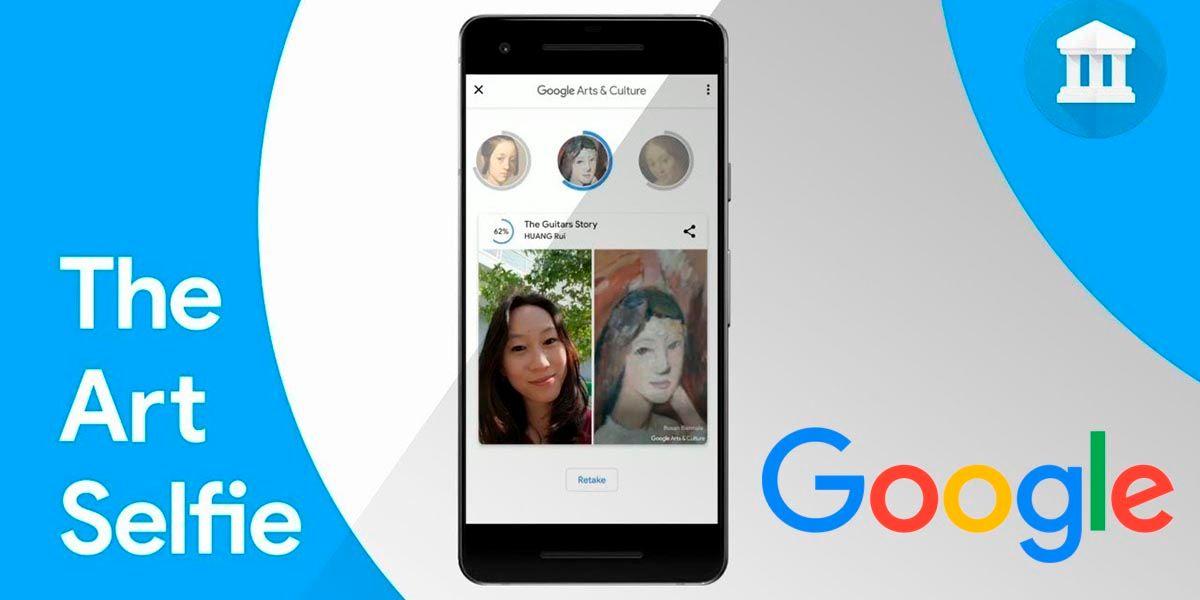 Descubre a que cuadro te pareces con Google