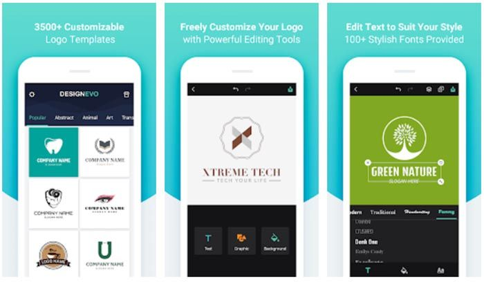 Design Evo Logo Maker para Android