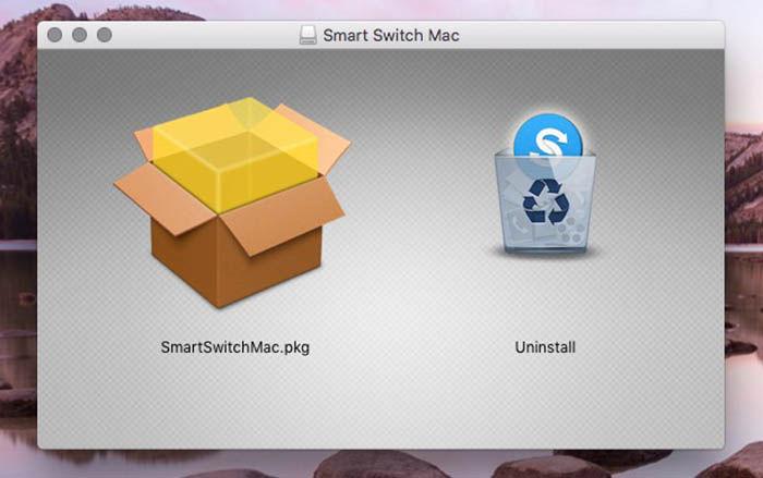Desinstalar Smart Switch MAC