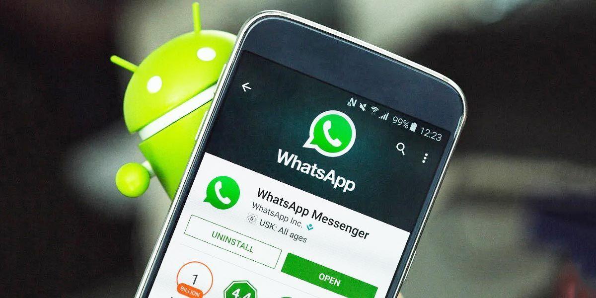 Desinstalar Whatsapp Android