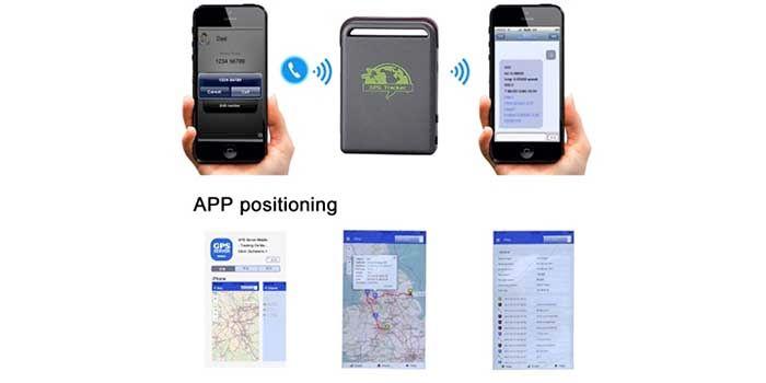 Detector GPS con SIM barato