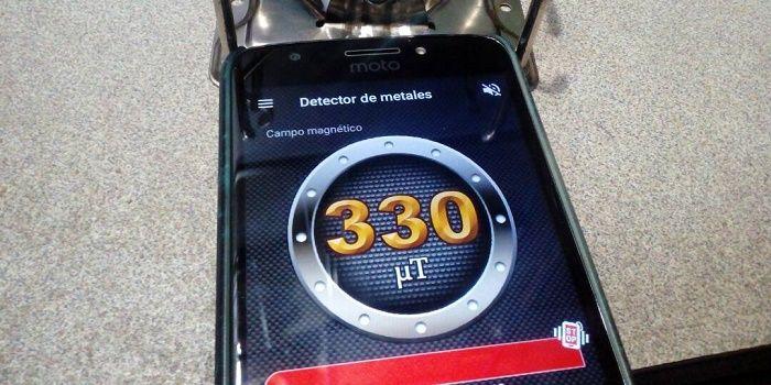 Detector de metales para Android