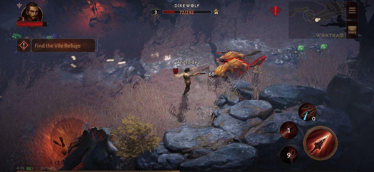 Batalla en Diablo Immortal
