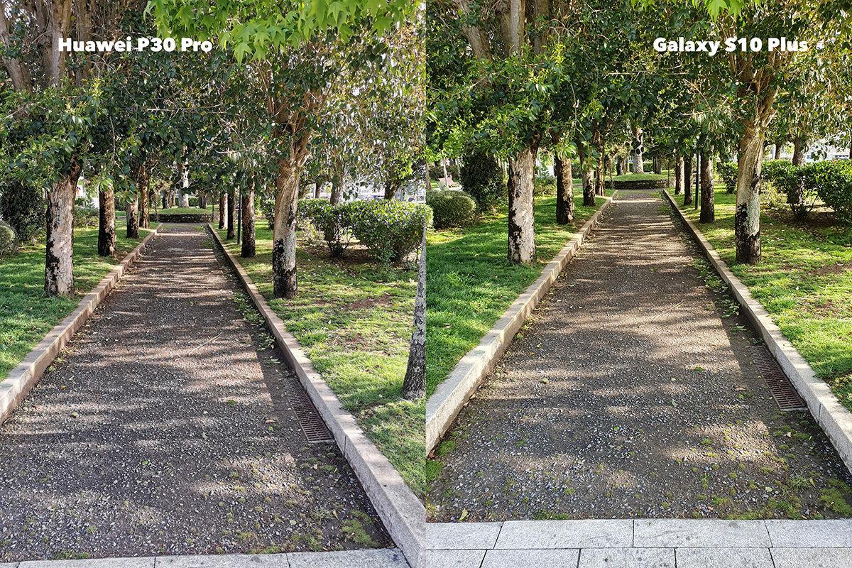 Diferencia parque P30 Plus vs S10 Plus