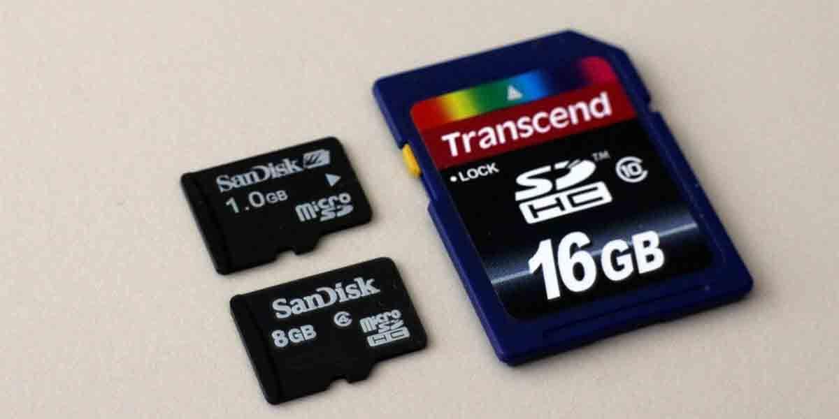 Diferencias tarjeta TF y microSD