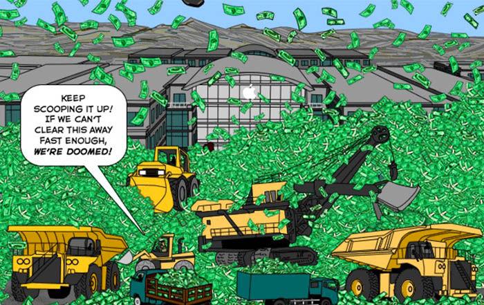 Dinero de Apple