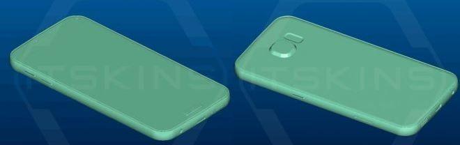 Diseño Galaxy S7