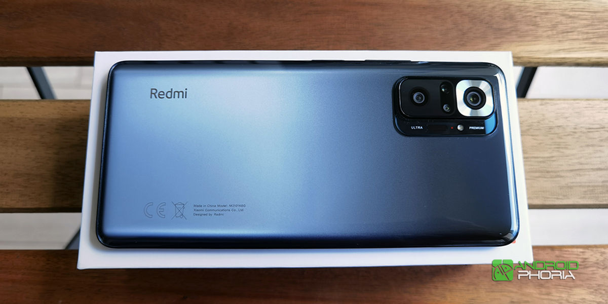 Diseno Redmi Note 10 Pro