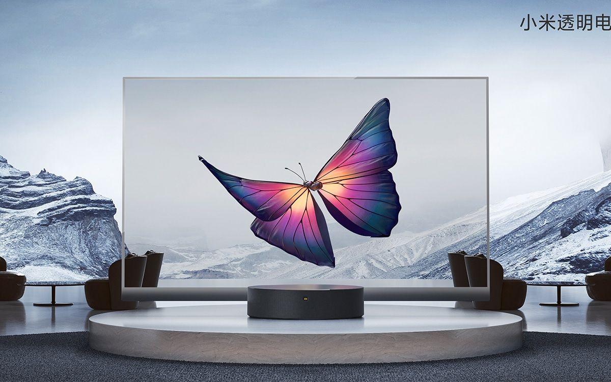 Diseño Xiaomi Mi TV LUX Transparent