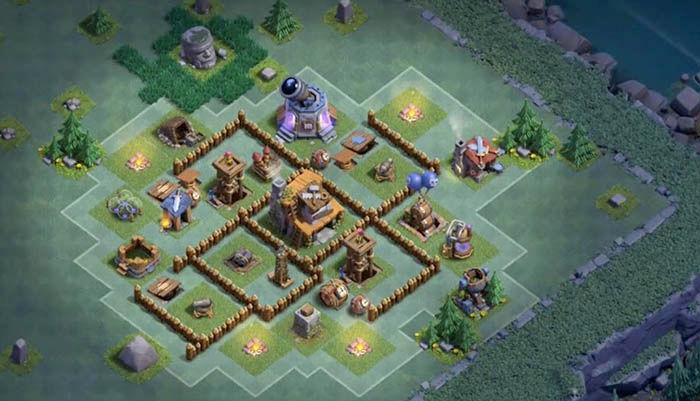 Diseno aldea BH4 Clash of Clans 1