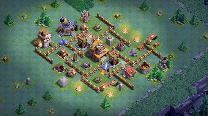 Diseno aldea BH4 Clash of Clans 2