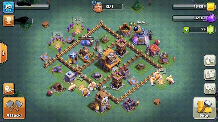 Diseno aldea BH4 Clash of Clans 5