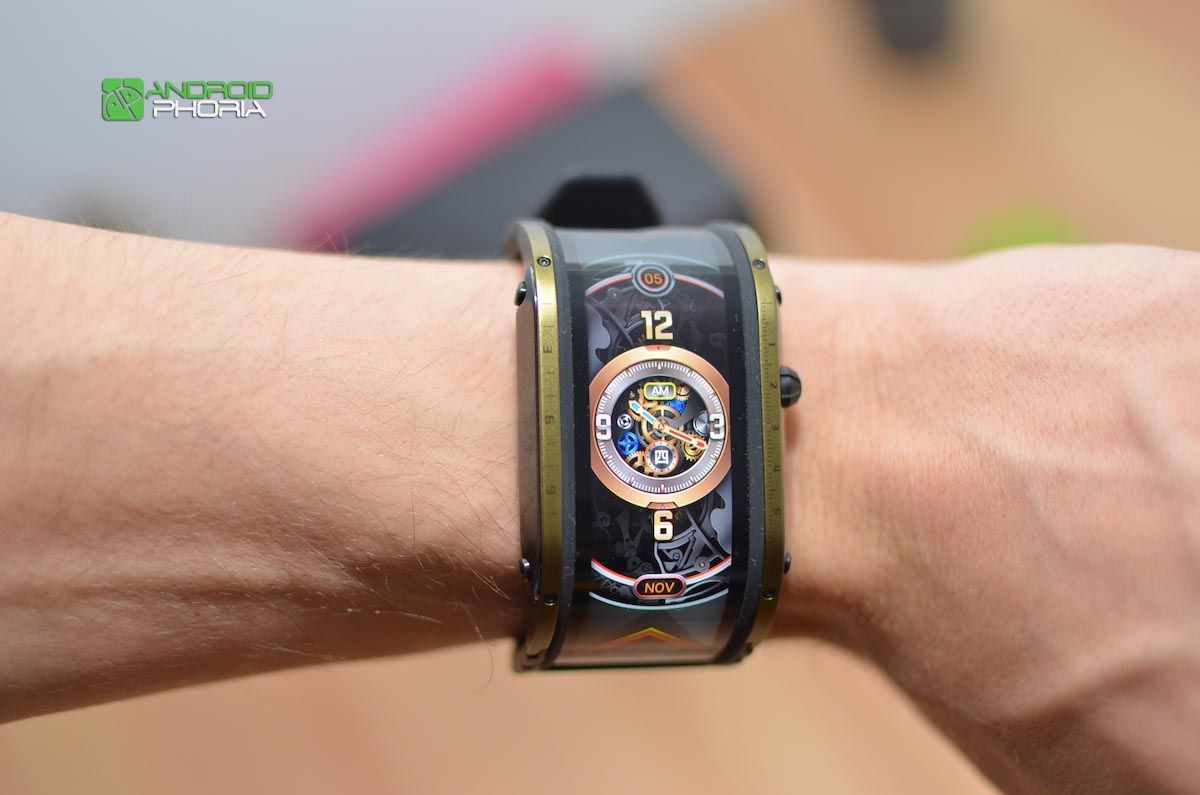 Diseño del Nubia Watch 1