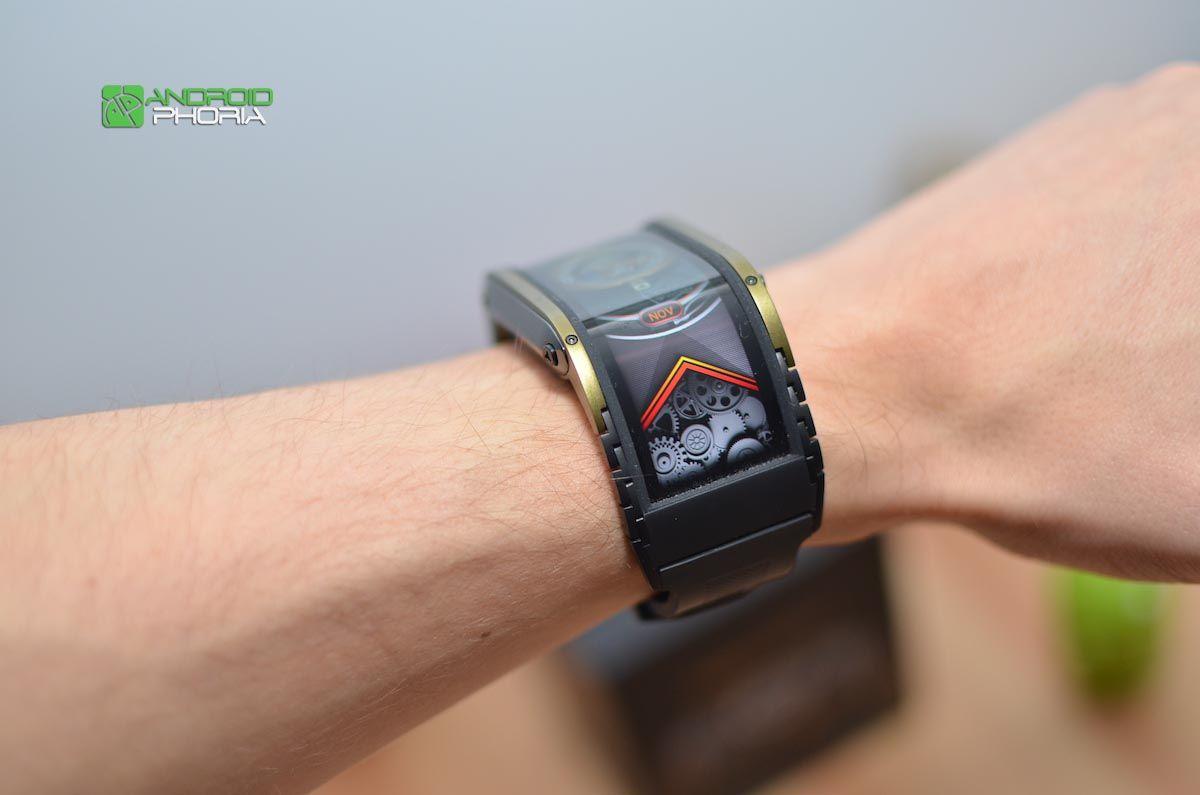 Diseño del Nubia Watch 2
