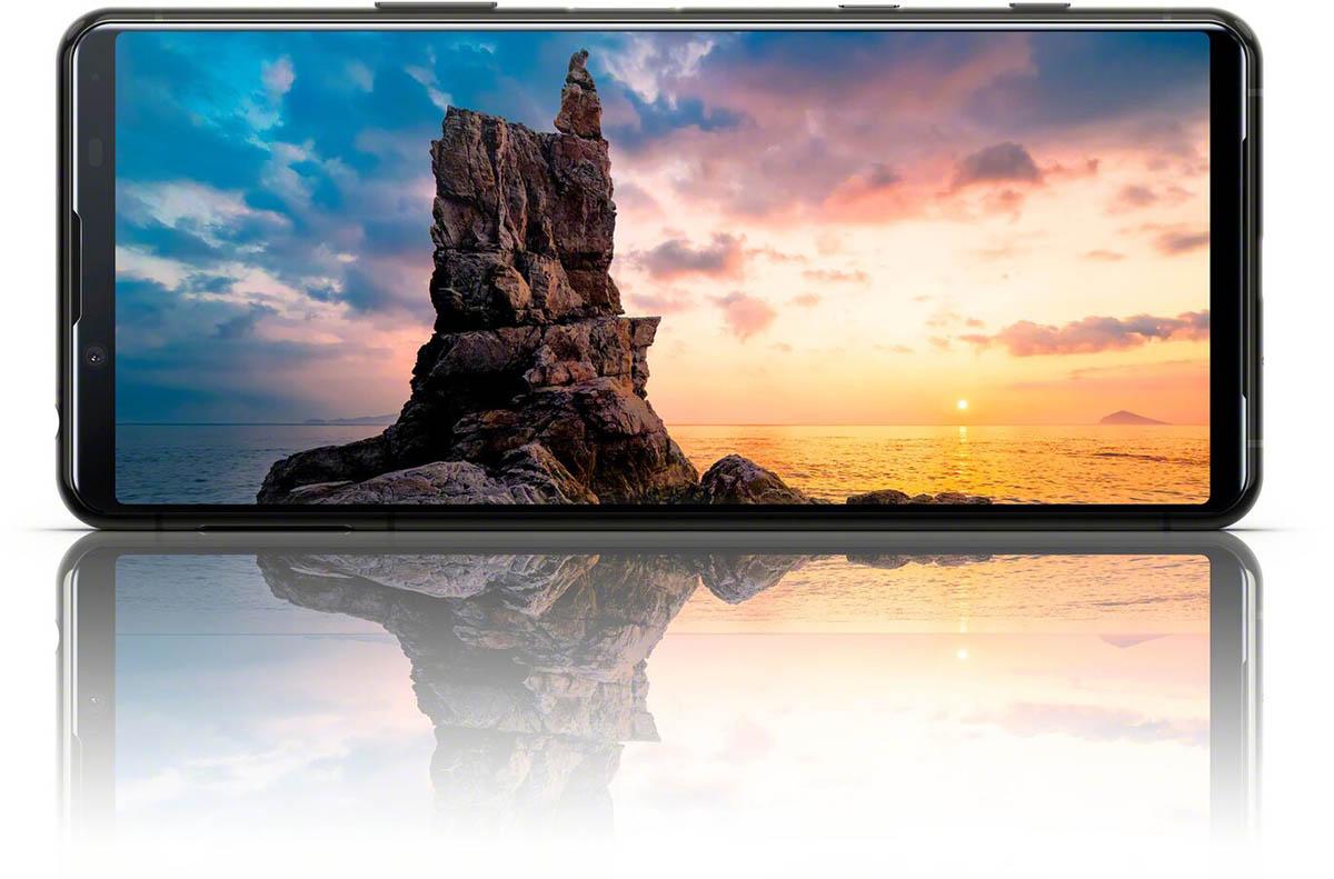 Diseño y pantalla del Sony Xperia 5 ll