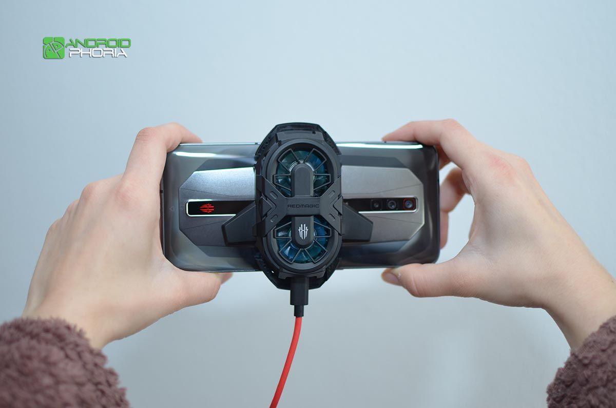 Disipador externo Red Magic 6 Pro