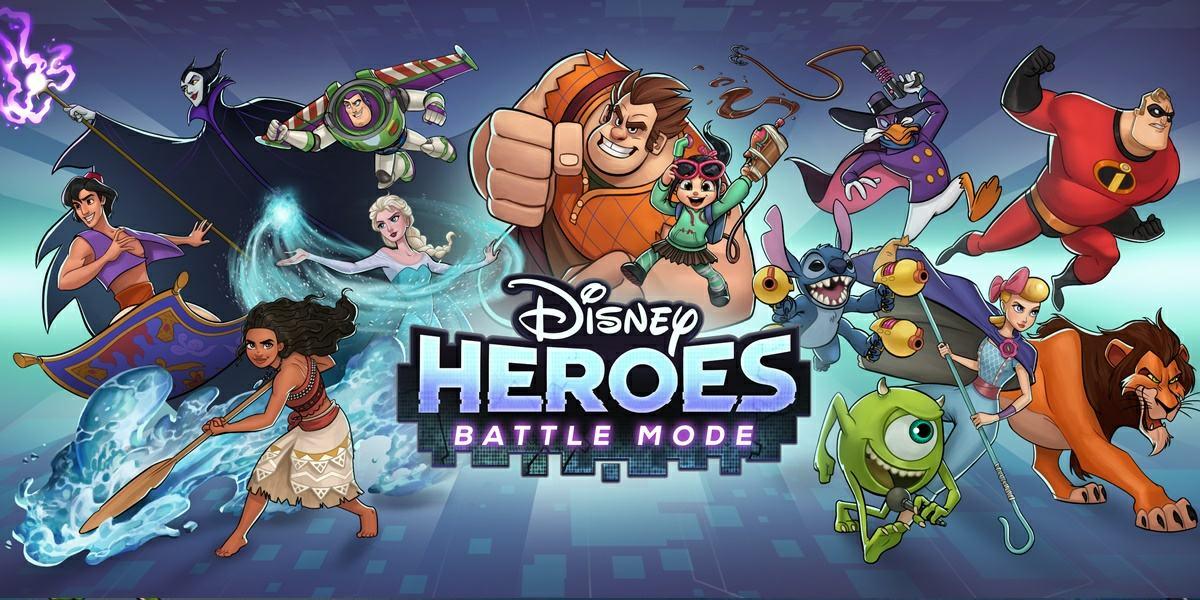 Disney Heroes Battle Mode un divertido rpg para moviles