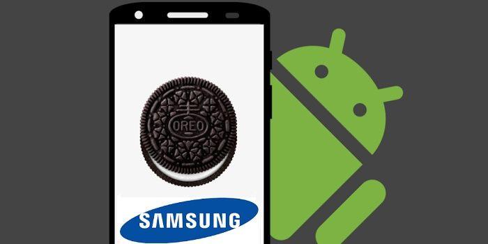 Dispositivos Galaxy actualización a Android Oreo 2018