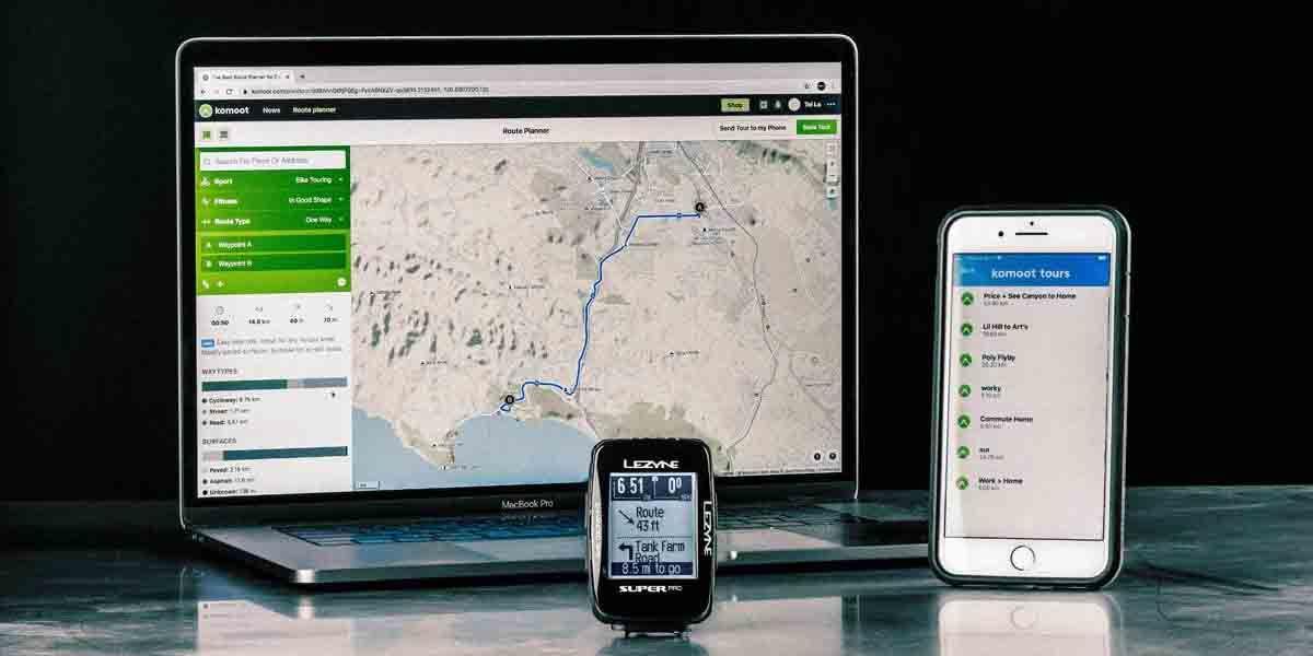 Dispositivos compatibles con Komoot