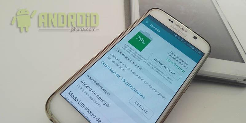 Doblar autonomía Galaxy S6