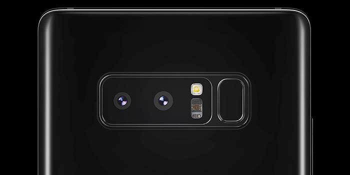 Doble camara Galaxy Note 8