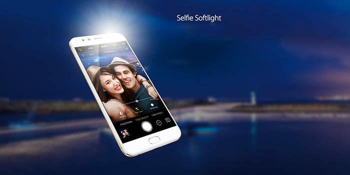 Doble camara frontal selfies