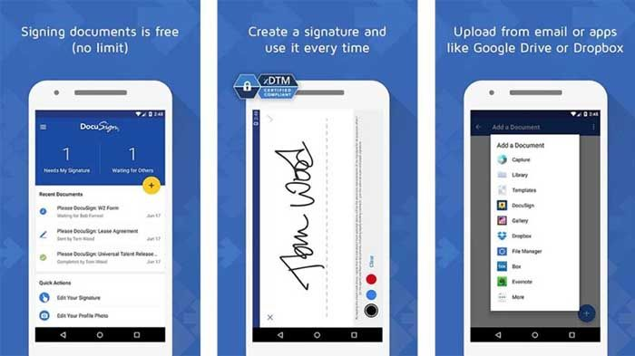 DocuSign para Android