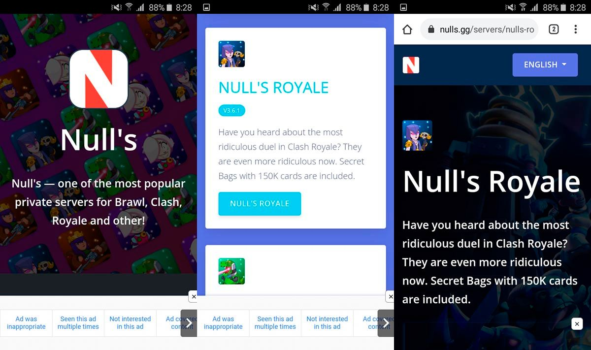 Donde descargar Null's Royale Android