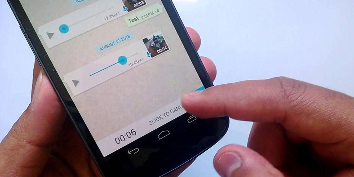 Donde se guardan los audios de WhatsApp Android
