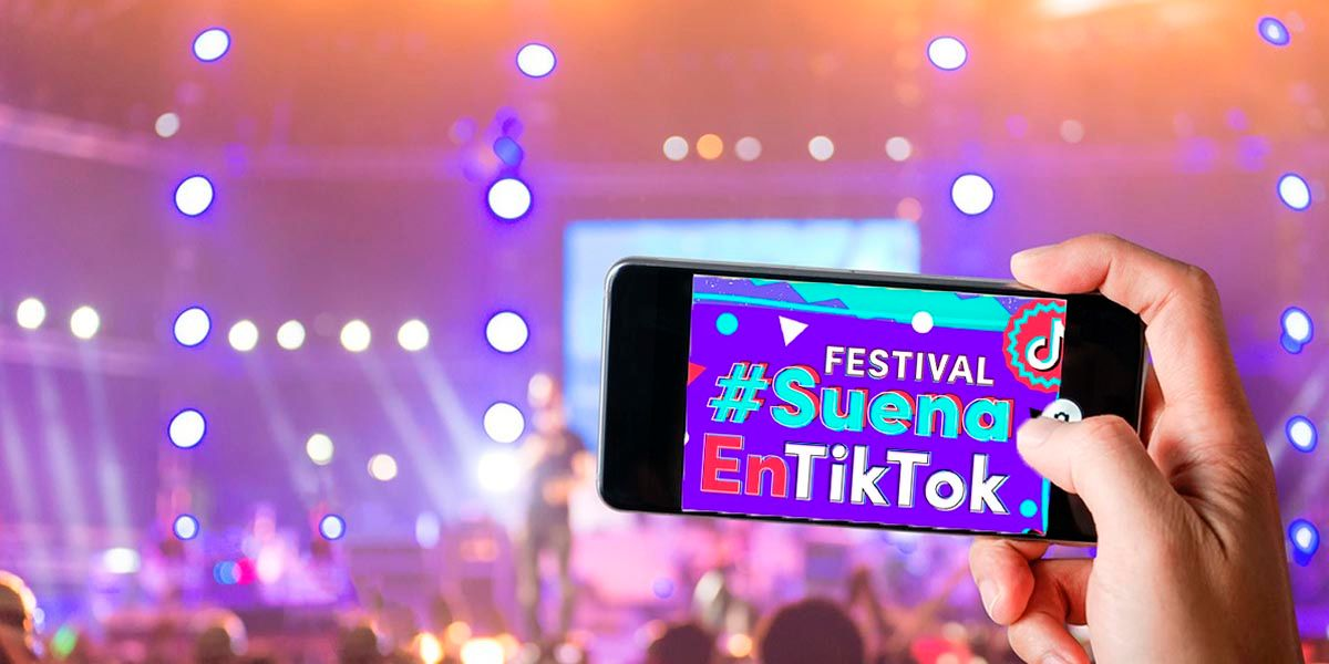 Donde ver Festival Suena en TikTok