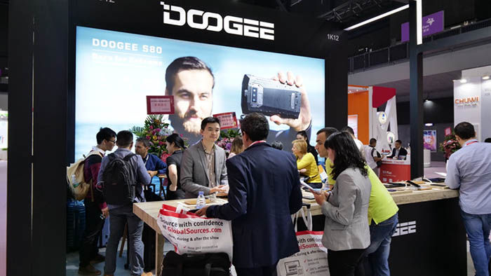 Doogee Mobile Electric Show 2018