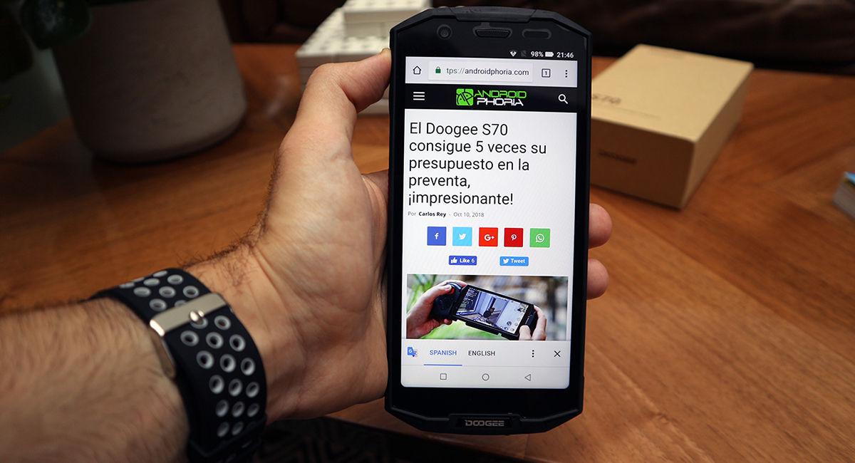Doogee S70 Androidphoria