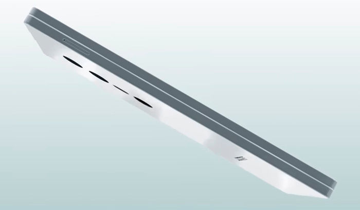 Doogee Slide Full Screen lateral
