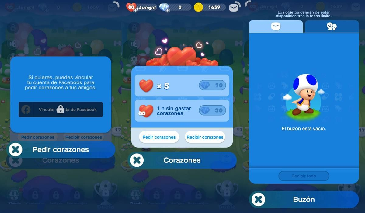 Dr. Mario World corazones para conseguir