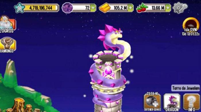 Dragon City torre Jewelem