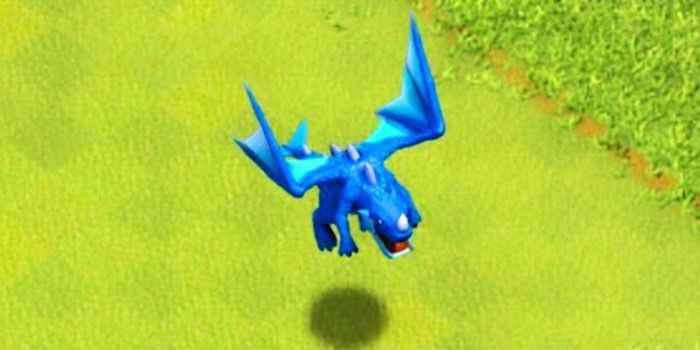 Dragon electrico en Clash Royale