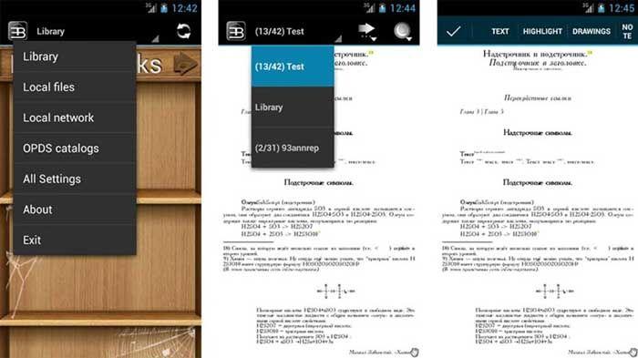 EBookDroid para Android