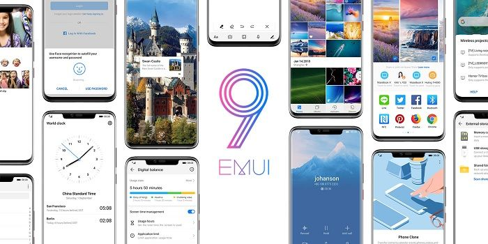 EMUI 9.0 destacada