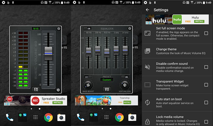 Ecualizador para Android