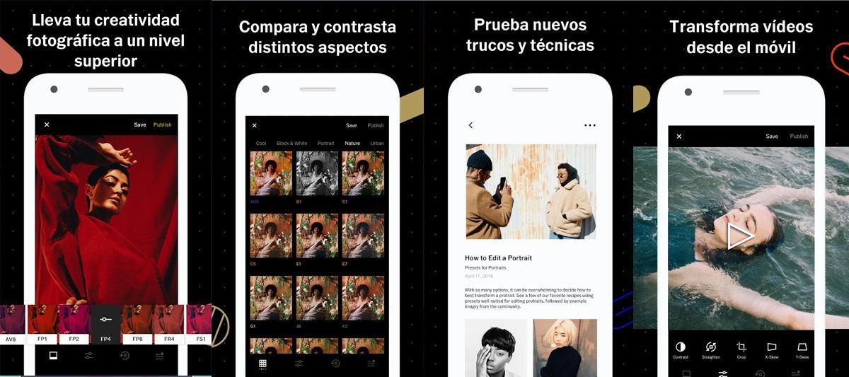 Edita imágenes como un profesional con estas aplicaciones para Android