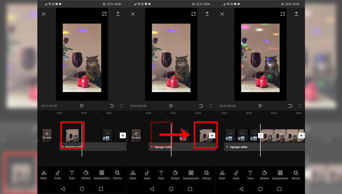 Editar vídeos en CapCut para hacer TikToks virales