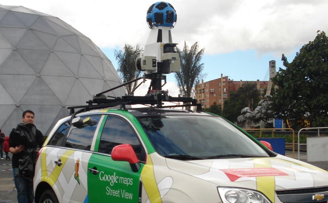El coche de Street View
