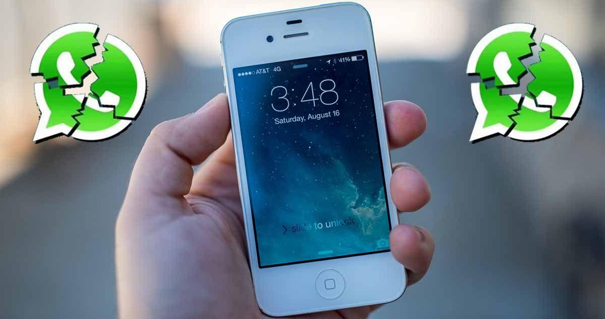 El iPhone 4s se queda sin WhatsApp