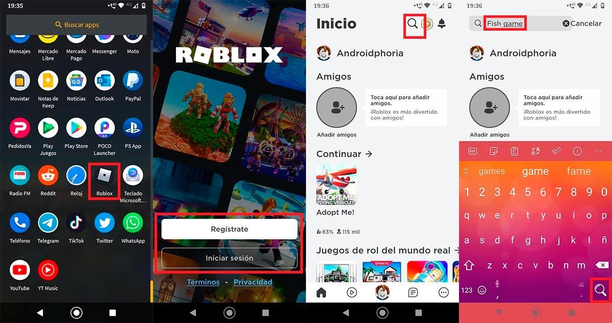 El juego del calamar Roblox