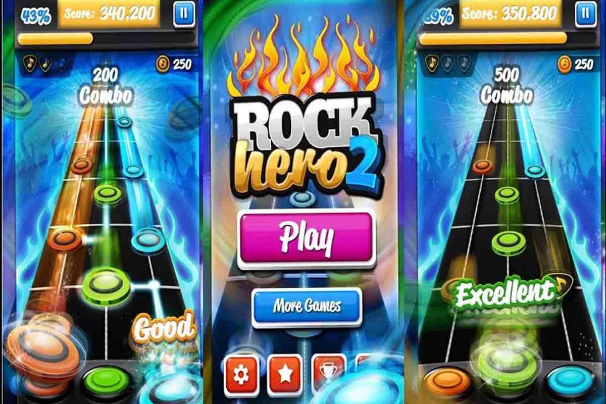 El juego más sencillo para seguir el ritmo, Rock Hero