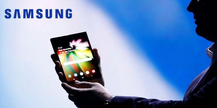 El movil plegable de Samsung