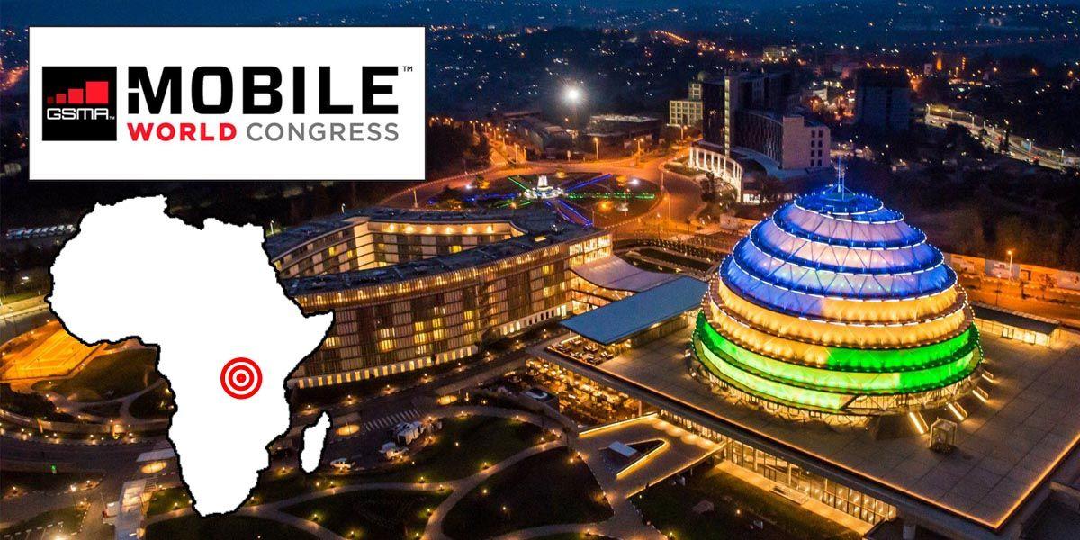 El primer Congreso Mundial de Telefonía Móvil que se celebra en Kigali, la capital africana de Rwanda