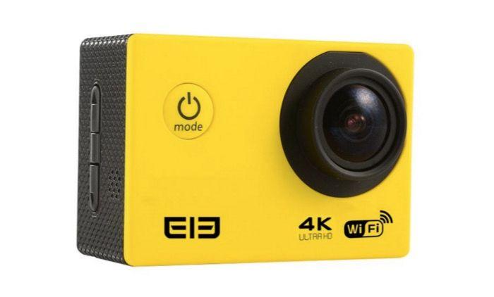 Elephone 4k action cam características y diseño