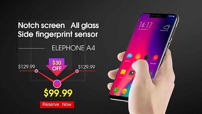 Elephone A4 oferta
